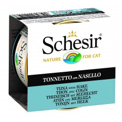 Schesir Cat - Jelly Thunfisch & Seehecht 85g