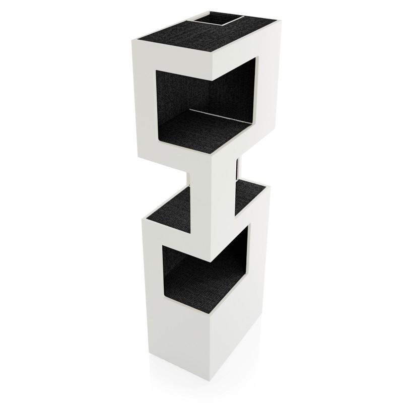 the one xl kratzbaum gro er design kratzbaum luxus ausf hrung holz. Black Bedroom Furniture Sets. Home Design Ideas
