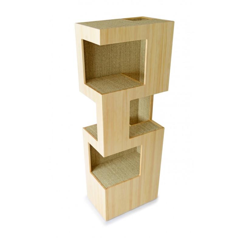 kratzbaum design kratzbaum corbeille der nachhaltige kratzbaum with kratzbaum design silvio. Black Bedroom Furniture Sets. Home Design Ideas