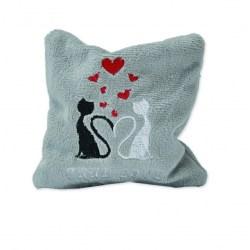 Katzenkissen mit Silver Vine - True Love Größe S