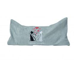 Katzenkissen mit Silver Vine - True Love Größe L