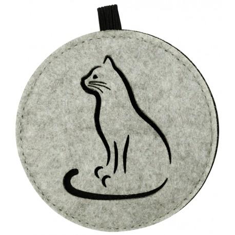 "Filz-Untersetzer ""Katze"" - Untersetzer aus Filz mit Katzenmotiv"