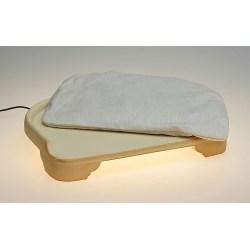 Minkas Kachelofen ist ein elektrisch beheizbares Katzenbett