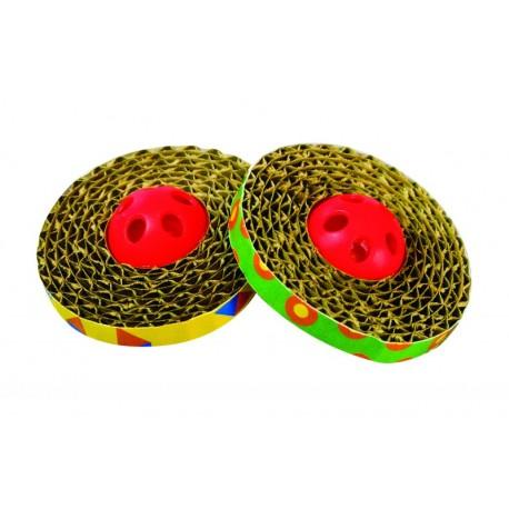 Spin and Scratch Kratzenspielzeug zum Kratzen - Kratzspielzeug für Katzen