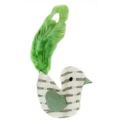 Cat Paper Toy Bird - Katzenspielzeug aus Naturprodukten wie Federn