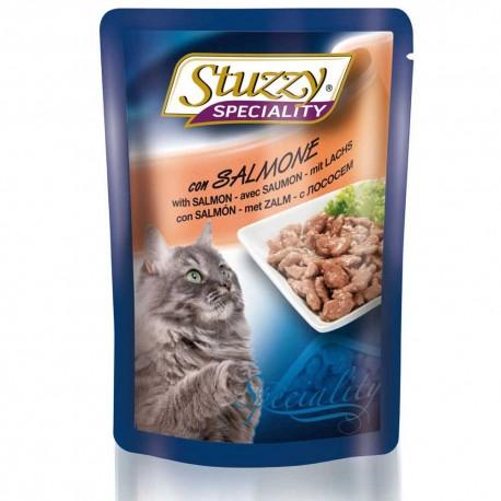 Stuzzy Cat Speciality Lachs 100g - gesundes Nassfutter für Katzen mit Soße